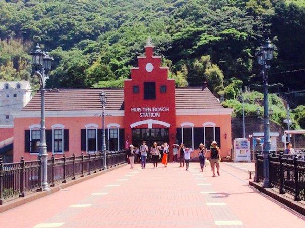 長崎は今日もレトロだった。異国情緒たっぷりの「ハウステンボス駅」