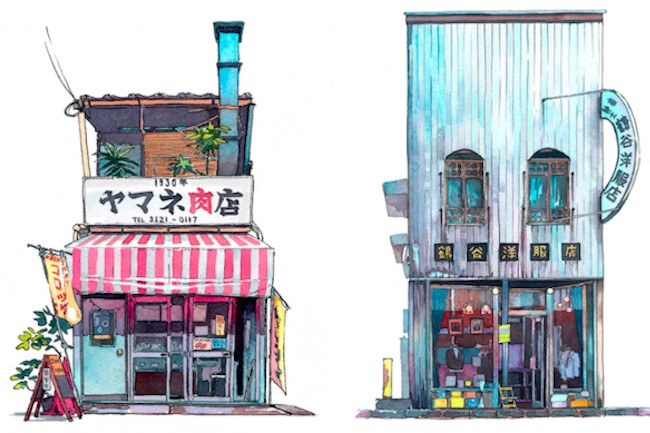 ポーランド人が描いた「昭和な東京」になんかワクワクさせられる