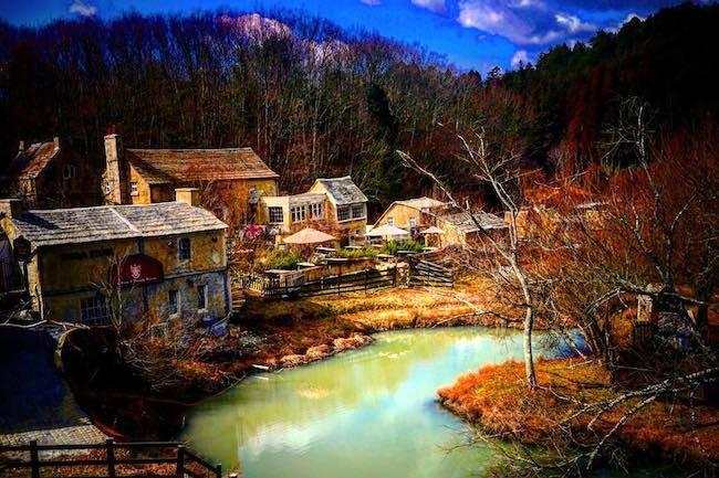 ここが京都?イギリスのような雰囲気溢れる「ドゥリムトン村」