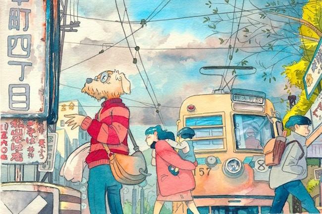 前回紹介したポーランド人のMattōさん(Mateusz Urbanowicz)が描いた「昭和な日本」では、昭和の香りが漂うレトロな商店街の姿が鮮やかに描かれました。今回紹介するのは、Mattōさんが描く「ノスタルジックな横浜」です。