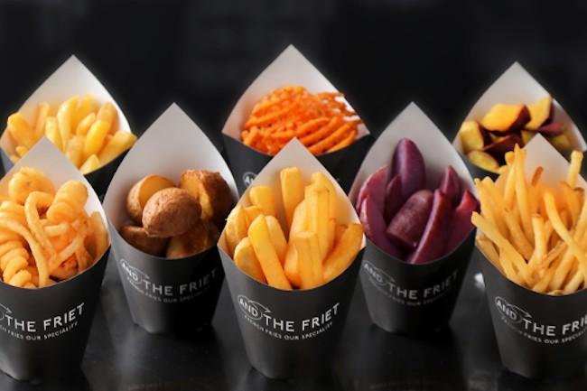 インスタジェニックなお芋たち!本格的なフレンチフライ専門店が話題