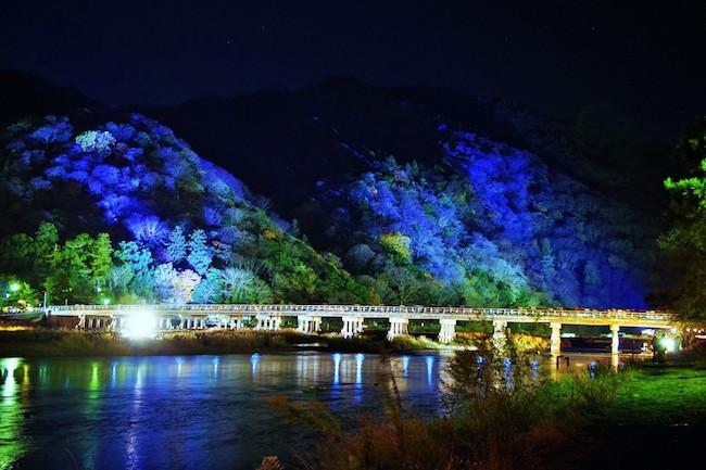 【オトナの京都】闇夜に浮かぶ嵐山花灯路が美しい