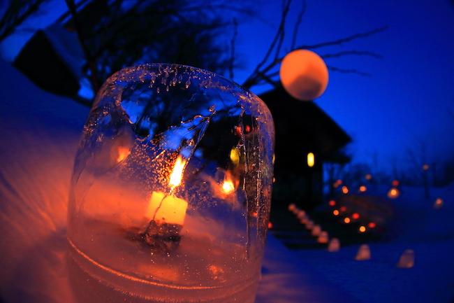ロウソクの灯火が小樽を幻想的に。「小樽雪あかりの路」2月9日から