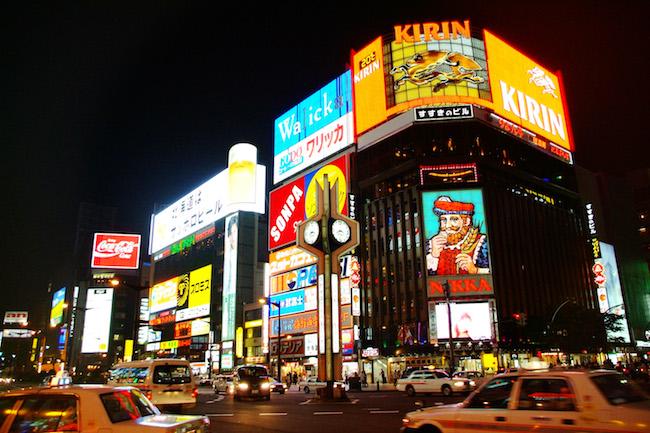 北海道随一の歓楽街「すすきの」