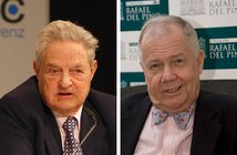 From Wikimedia Commons George Soros&Jim Rogers