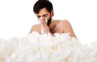 花粉症は日本人特有…ってことはなく、海外でも普通に「ムズムズ」していた