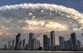 南米で「インデペンデンス・デイ」ぽい雲が出現。世界のヤバイ雲まとめ