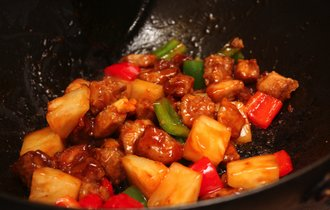 中華鍋で作る酢豚が最強。摂りづらい鉄分を効果的に吸収する方法