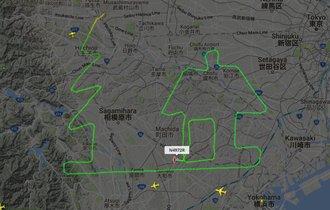 米空軍からのクリスマスプレゼント? 横田基地からの航路が…