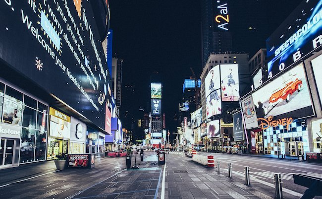 10 -Desert in New York - Times Square - Thanksgiving 2016 © Genaro Bardy