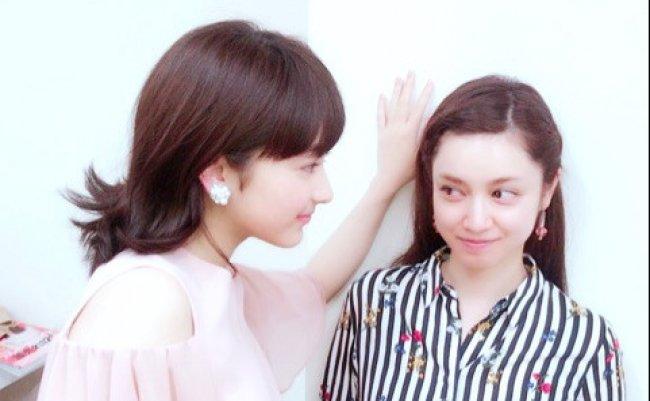 平愛梨と平祐奈