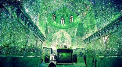 イラン 霊廟 万華鏡