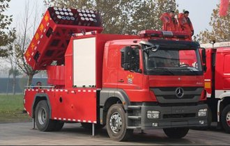 軍事用かよ。中国の消防車が火を消すどころの騒ぎじゃなかった件