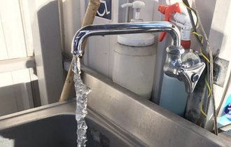 水道管が凍らぬよう流しっぱなしにした結果…トンデモないことに