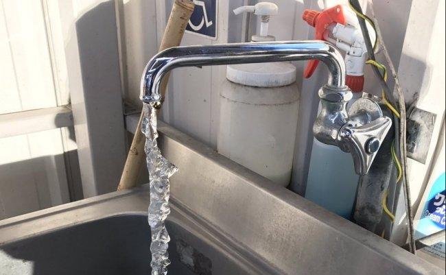 水道 凍る ツイッター