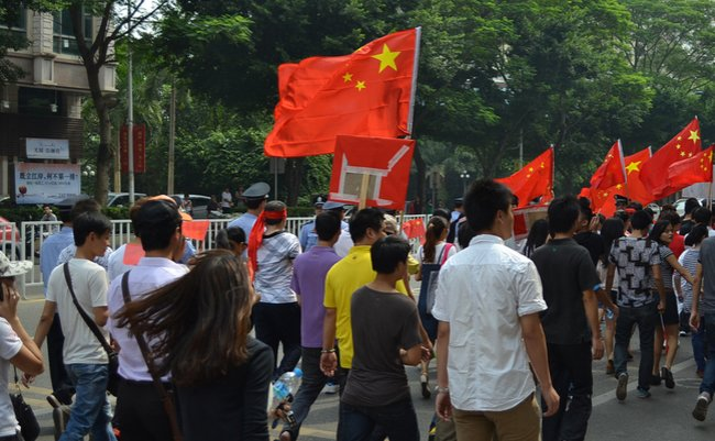 中国 国歌 暴徒 習近平