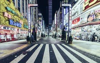 1年でほんの数秒間。東京から人が消える瞬間を切り取った写真