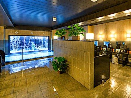 ホテルルートイン熊谷の大浴場